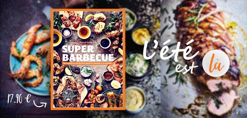 Ce livre fait référence dans le monde du barbecue et vous propose, de manière concise et ludique, les techniques de cuisson et des recettes du monde pour faire de votre barbecue une véritable cuisine d'extérieure.