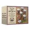 packaging des pots à épices design en inox