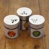 bocaux à épices design en inox