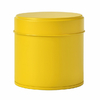 boite-a-the-ronde-80g-metal-jaune