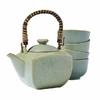 Coffret théière et 4 tasses japonaises - Jade