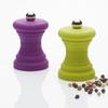 Mini moulin poivre ou sel violet vert anis