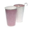 Tisanière Stones Lilas double paroi 35cl avec filtre - 2 coloris