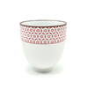 Tasse rose floral - Porcelaine - 150 mL