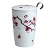 Tisanière Cherry Kyoto double paroi avec filtre - 35cl