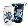 tisaniere-teaeve-luna-bleu-blanc-porcelaine-double-paroi-filtre-couvercle