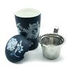 tisaniere-teaeve-luna-bleu-fleurs-blanches-porcelaine-double-paroi-filtre-couvercle