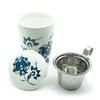 tisaniere-teaeve-luna-blanc-fleurs-bleues-porcelaine-double-paroi-filtre-couvercle