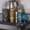 boite-a-the-yumiko-150g-fleurs-embossees-collection-bleu-or-noir