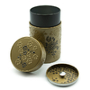 boite-a-the-yumiko-or-noir-150g-decor-fleurs-bouchon-hermetique