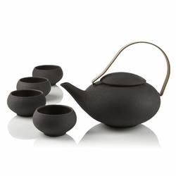 Service à thé Pebble - 1 L - Ardoise