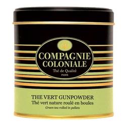Thé Vert Gunpowder BIO en boîte métal luxe 150 g