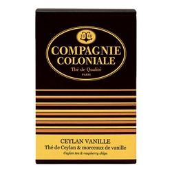Thé Ceylan Vanille en boîte de 25 sachets Berlingo
