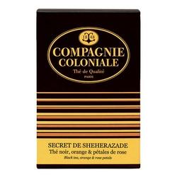 Thé Secret de Shéhérazade en boîte de 25 sachets Berlingo