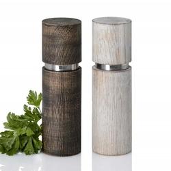 Duo de moulins Textura Antique en bois