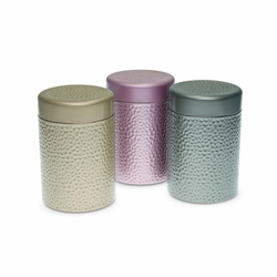 Boite à thé Stones - Format tube 125g - Coloris multiples