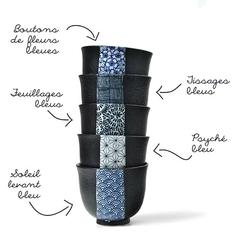 Tasse en céramique - Encres du Japon - 100 mL