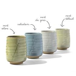 Tasse en céramique - Bambou - 300mL - Coloris multiples