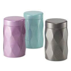 Boîte à thé Crystal LUX 125g  - Format tube - Coloris multiples