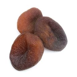 Abricots secs noirs naturels dénoyautés