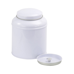 Boîte à thé vintage - 125 g - Blanc