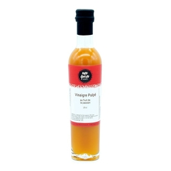 Vinaigre à la pulpe de fruit de la passion - 25 cl
