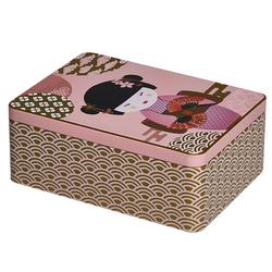 Boîte métal pour sachets de thé New Little Geisha
