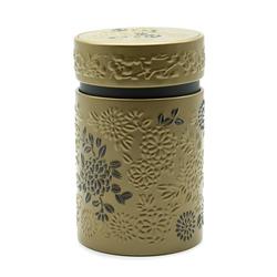 Boîte à thé Yumiko or et noir - 150 g