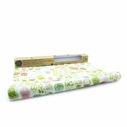 Rouleau d'emballage alimentaire réutilisable à la cire d'abeille - zéro déchet - 90 cm