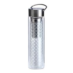 Thermos en verre double paroi avec infuseur Flowtea May Lin - 40 cl
