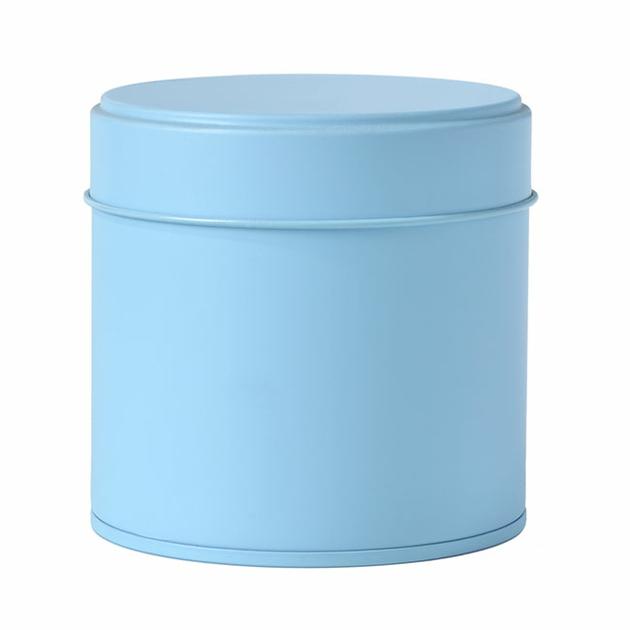 boite-a-the-ronde-80g-metal-bleu