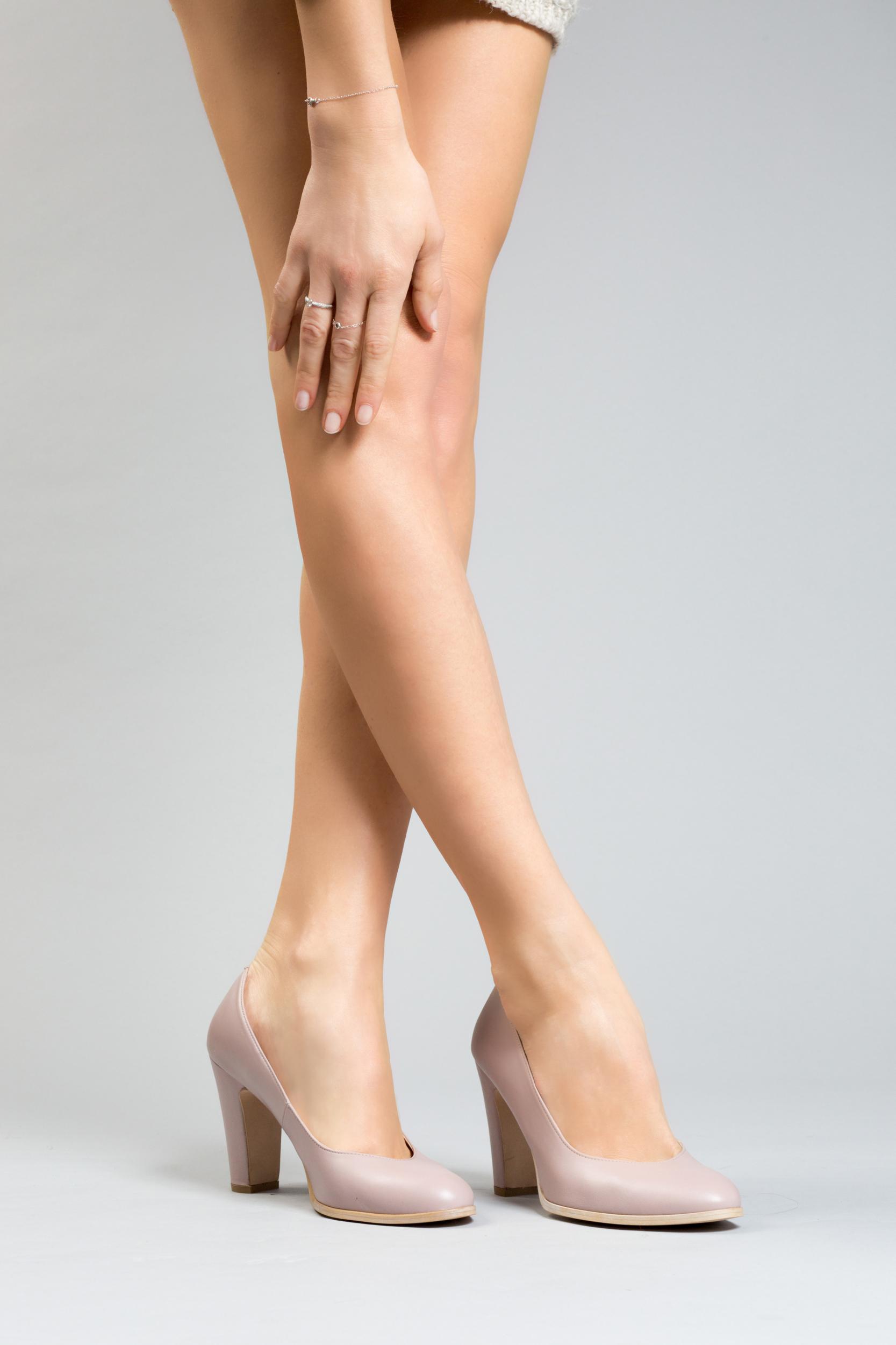 Escarpins femmes nude grande taille