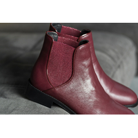 Chelsea Boots bordeaux ALIMA femme du 36 au 46 - Collection CAPSULE