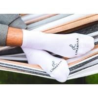 Chaussettes Mixtes blanches Hommes Femme, du 35 au 46