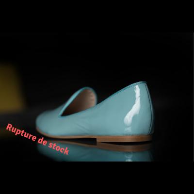 Slippers bleus petite pointure
