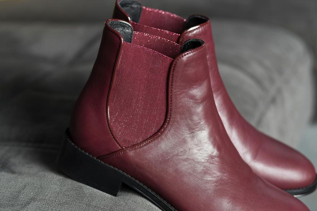 dfe4d8d0f874e0 Chelsea Boots bordeaux ALIMA femme du 36 au 46 - Collection CAPSULE ...