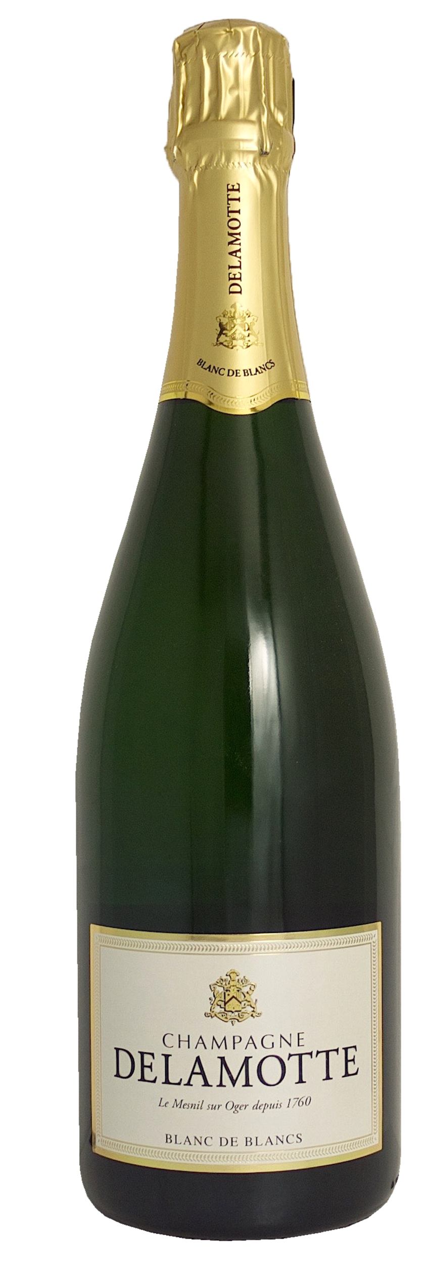 Champagne blanc de blancs brut champagne delamotte for Champagne delamotte prix
