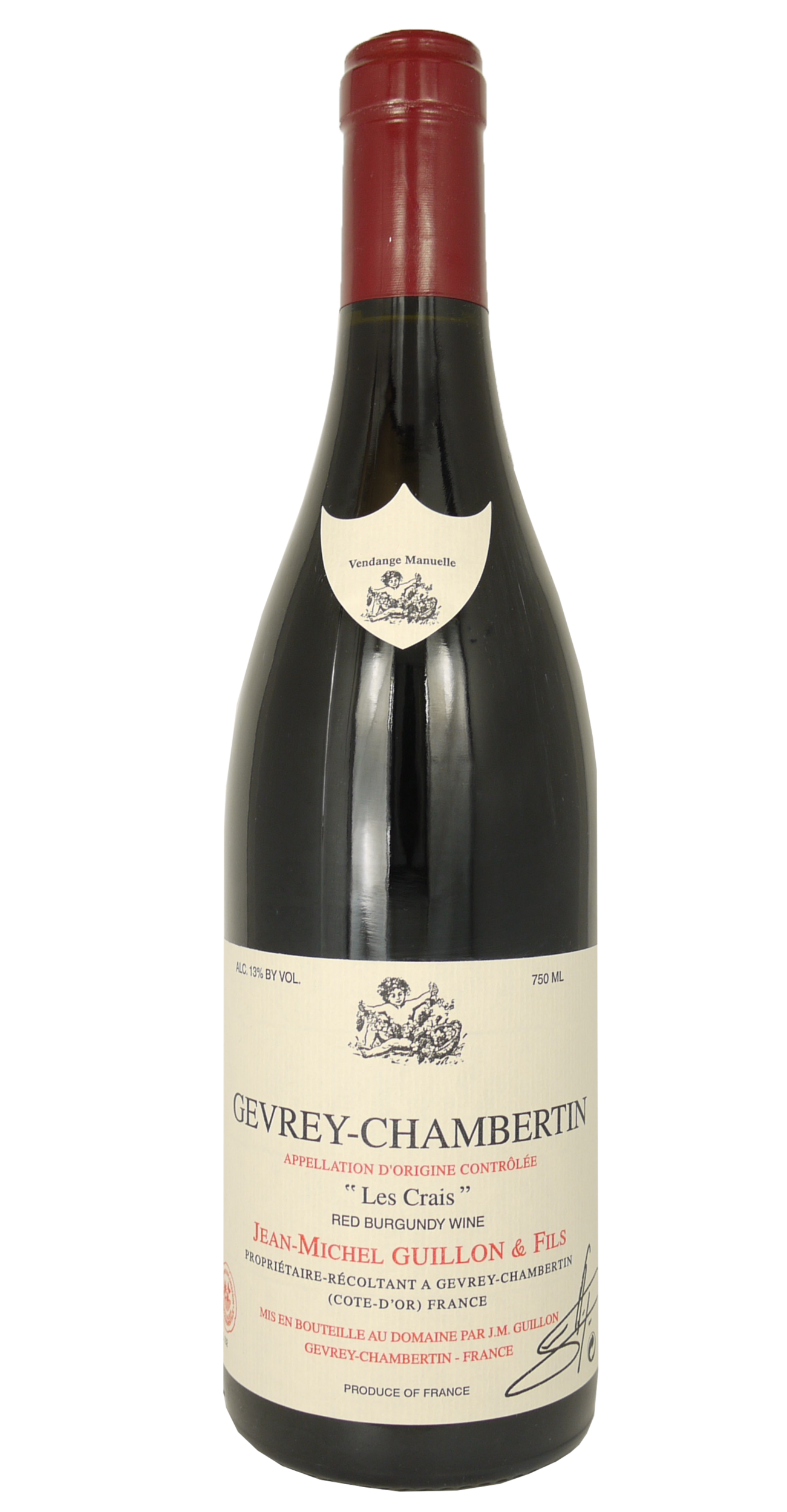 gevrey chambertin les crais 2015 jean michel guillon et fils. Black Bedroom Furniture Sets. Home Design Ideas
