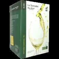 Côtes Catalanes Le Tonnelet- Blanc-5L BIB