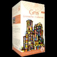 BIB Cubi Bag-in-Box Gris de Grenache-Cabernet - Rosé - 10L - Vignerons Ardechois