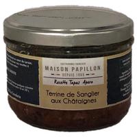 Recette Tapas Apéro Sanglier aux Châtaignes - 160g - Maison Papillon