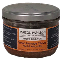 Recette Tapas Apéro Chèvre, Amandes et miel - 160g - Maison Papillon