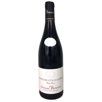Bourgogne Côtes d'Auxerre - Rouge - 2019 - Domaine Bersan