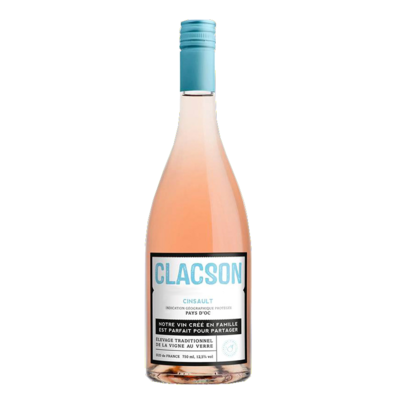 Clacson rosé Laurent Miquel