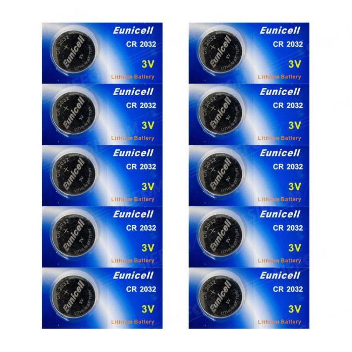 eunicell lot 10 piles lithium cr2032 br2032 dl2032 ea 2032c kcr2032 3v piles eunicell energy01. Black Bedroom Furniture Sets. Home Design Ideas