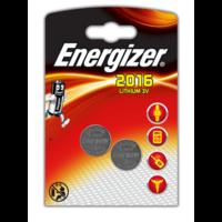 2 PILES ENERGIZER® POUR APPAREILS ÉLECTRONIQUES – CR2016