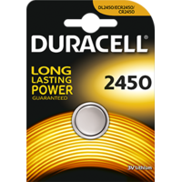 1  Piles boutons au lithium CR2450 3V Duracell