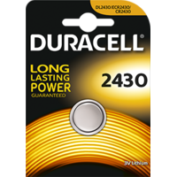 1 Pile boutons au lithium CR2430  3V Duracell
