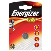 1 Pile bouton CR1620 Energizer Lithium 3v