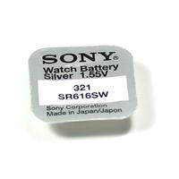 1 Pile SONY 321 /  SR616SW / SR616  1,55V SONY
